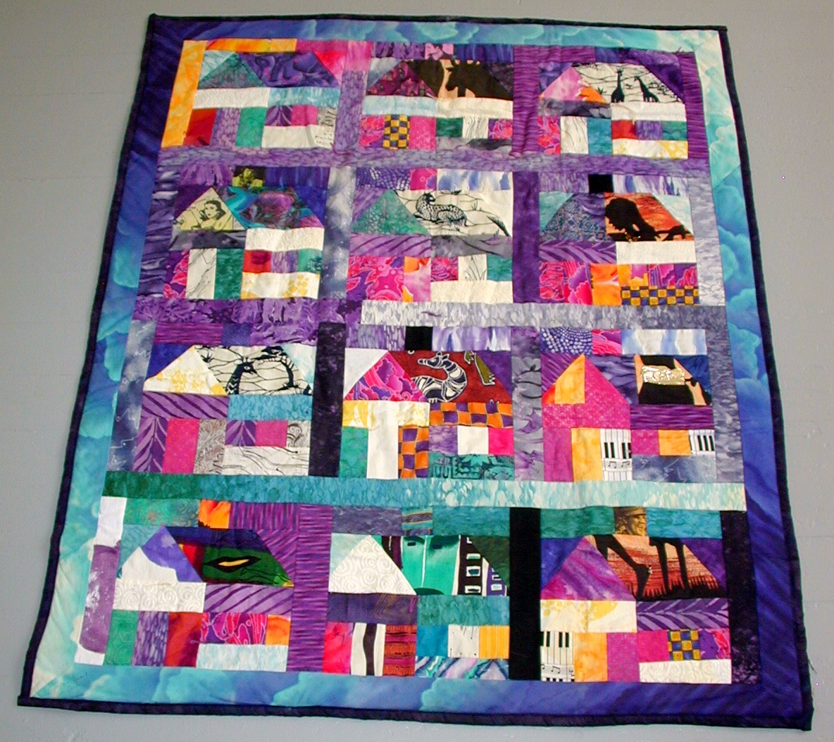 Elvis Diamonds Quilt