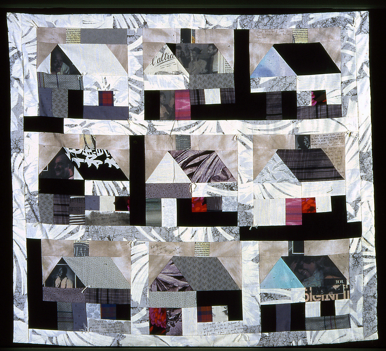 "The ""Jazz"" Quilt – Black and White"