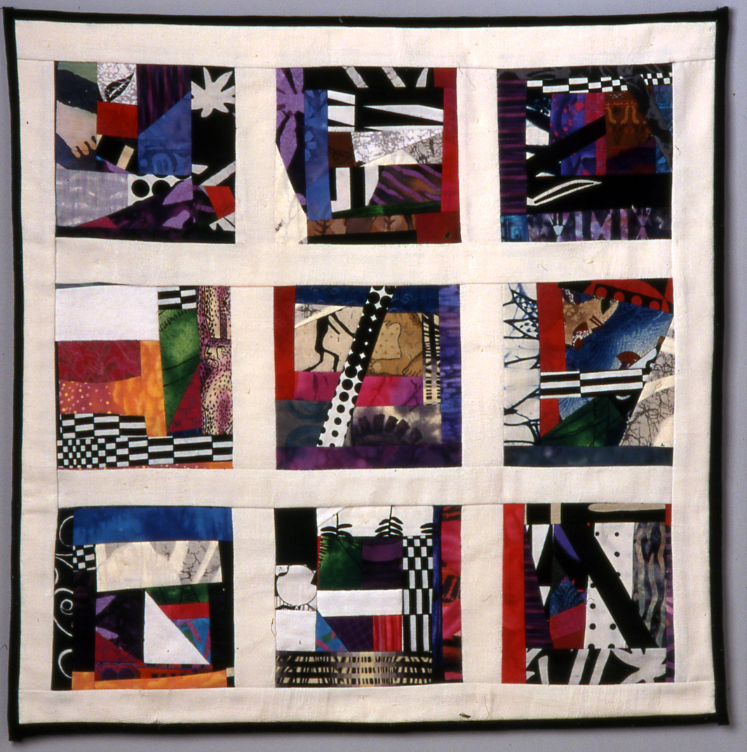 "The ""White"" Quilt – framed"